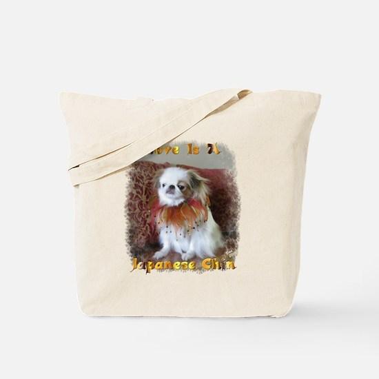 Unique Japanese chin Tote Bag