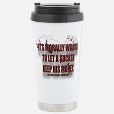 SUCKER Stainless Steel Travel Mug