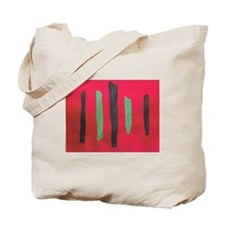 Ripped Art Tote Bag By AM