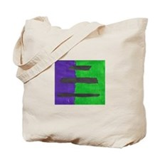 Ripped Art Tote Bag By Ben