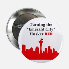 "Cool Nebraska huskers 2.25"" Button"