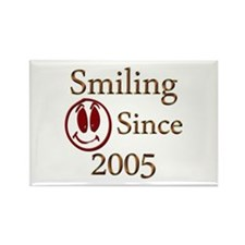 Funny Funny smiley face Rectangle Magnet