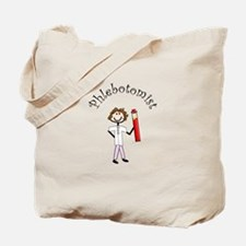 Stick People Occupations Tote Bag