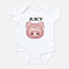 Unique Princess pig Infant Bodysuit