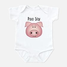 Cute Princess pig Infant Bodysuit