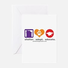 Unique The pet rescue center Greeting Cards (Pk of 20)