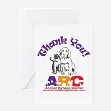 Cute The pet rescue center Greeting Card