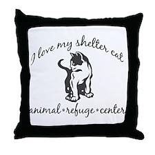 Unique The pet rescue center Throw Pillow