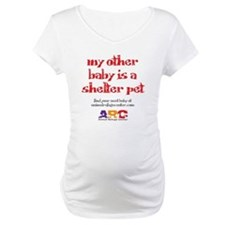 my_other_baby_is_maternity_shirt_white Shirt
