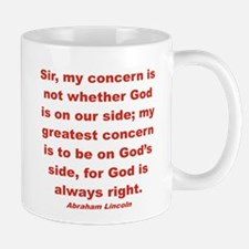 BEING ON GOD'S SIDE