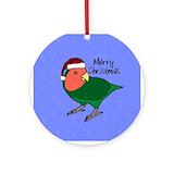 Lovebirds Ornaments