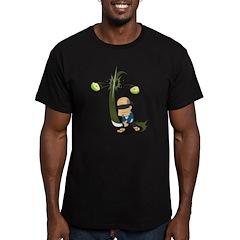 Sensei - Men's Green Fitted T-Shirt