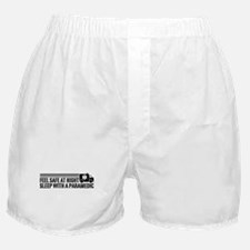 Feel Safe At Night Sleep With A Paramedic Boxer Sh
