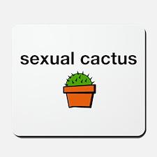 Sexual Cactus Mousepad
