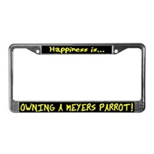 HI Owning Meyers Parrot License Plate Frame