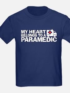 My Heart Belongs To A Paramedic T