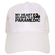 My Heart Belongs To A Paramedic Baseball Cap