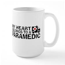 My Heart Belongs To A Paramedic Mug