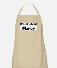 It's all about Marcy BBQ Apron