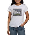 White Holland Turkeys Women's T-Shirt