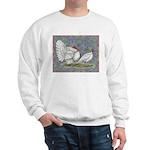 White Holland Turkeys Sweatshirt