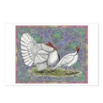 White Holland Turkeys Postcards (Package of 8)
