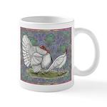 White Holland Turkeys Mug