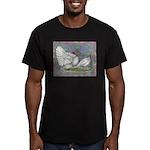 White Holland Turkeys Men's Fitted T-Shirt (dark)