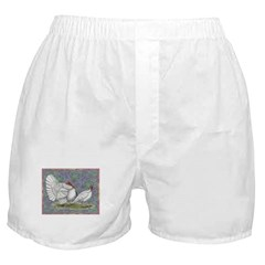 White Holland Turkeys Boxer Shorts