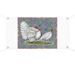 White Holland Turkeys Banner