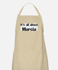 It's all about Marcia BBQ Apron