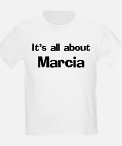 It's all about Marcia Kids T-Shirt
