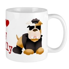 Cute Bulldogs rule Mug