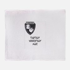 Fearfully Wonderfully Made Throw Blanket