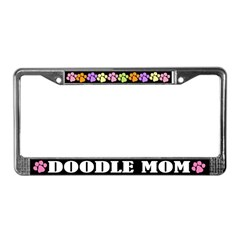 Doodle Mom License Frame