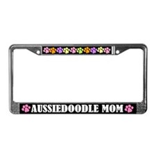 Aussiedoodle License Frame