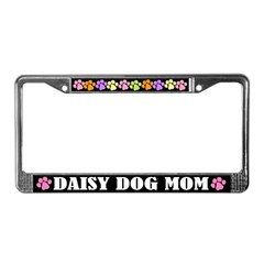 Daisy Dog Mom License Frame