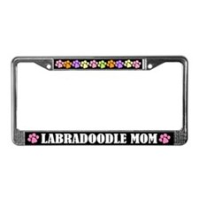 Labradoodle Mom License Frame