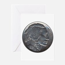The Indian Head Nickel Greeting Cards (Pk of 10)