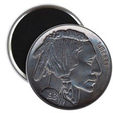 The Indian Head Nickel Magnet