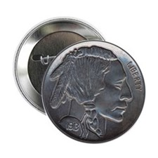 "The Indian Head Nickel 2.25"" Button"