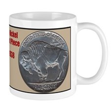 Unique Buffalo nickel Mug