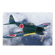 Japanese Zero Postcards (Package of 8)