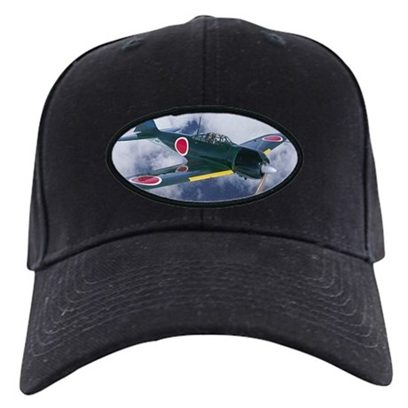 Japanese Zero Black Cap