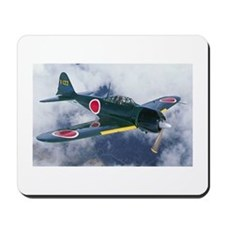 Japanese Zero Mousepad