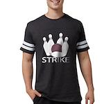 Organic Men's Fitted RA Cores T-Shirt (dark)