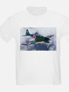Japanese Zero Kids T-Shirt