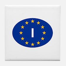 EU Italy Tile Coaster