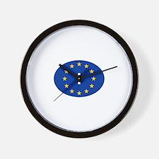 EU Italy Wall Clock