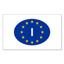 EU Italy Decal